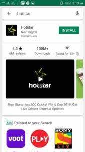 hotstar app for android tv