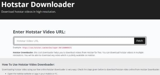 How to Download Hotstar Videos 2020