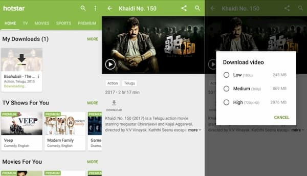 How to Download Movies from Hotstar 2020