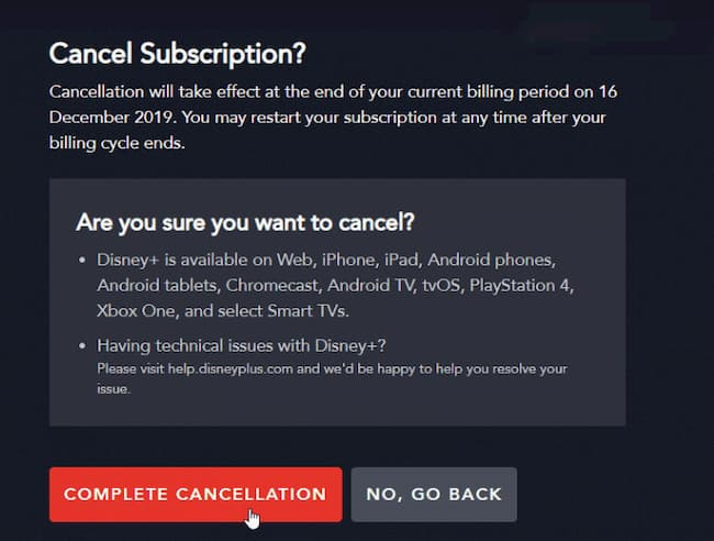 how long is the free trial for disney plus