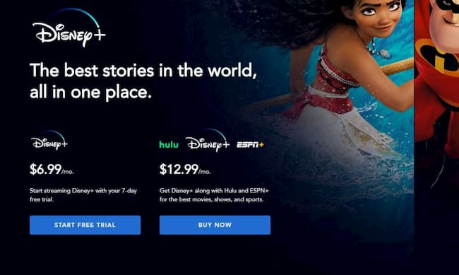 student discount disney plus