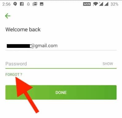 change hotstar password in mobile