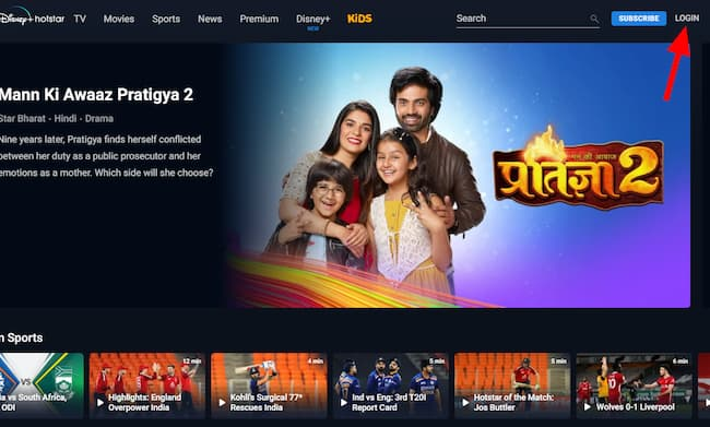 how to cast hotstar on tv on pc