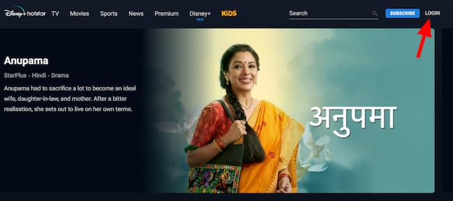 how to change hotstar password on my pc