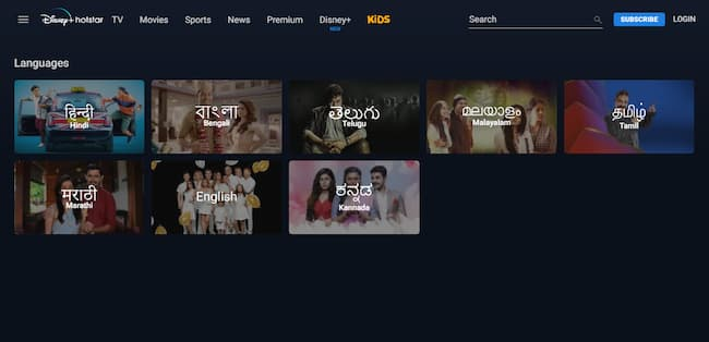 Which Languages Are Available On Disney+Hotstar