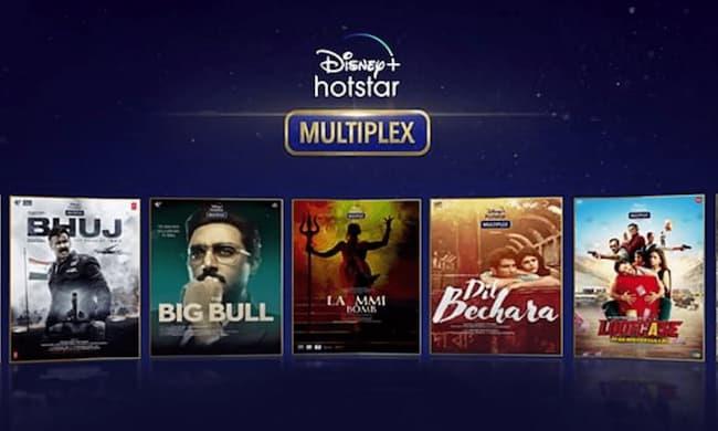 Upcoming movies in hotstar