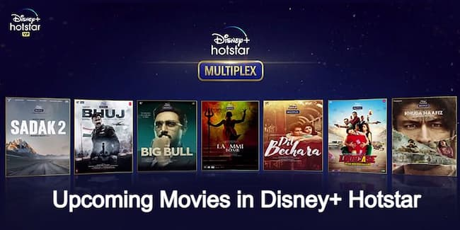 Upcoming Movies In Disney+ Hotstar