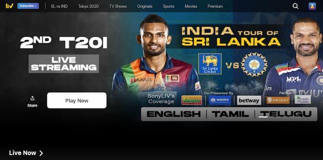 hotstar live cricket match today online sony liv