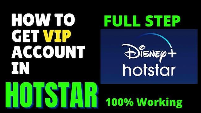 Hotstar VIP Login